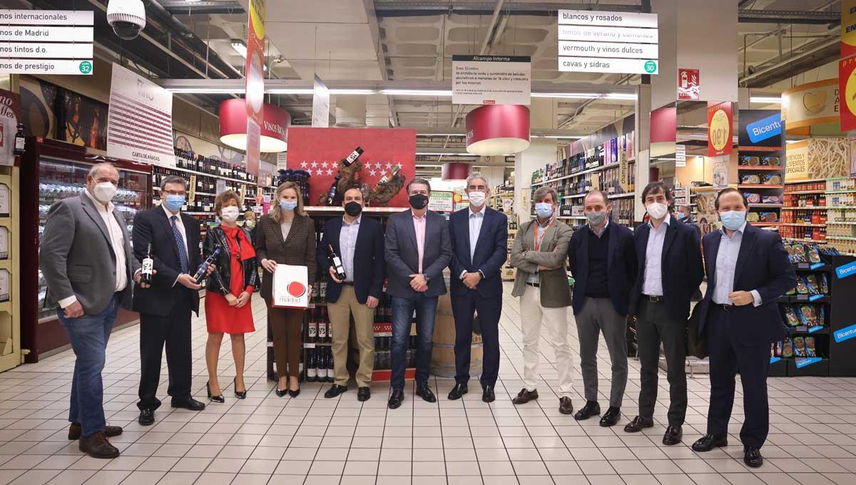 La Comunidad de Madrid mantiene su apoyo a los productores de vinos de Madrid con Denominación de Origen