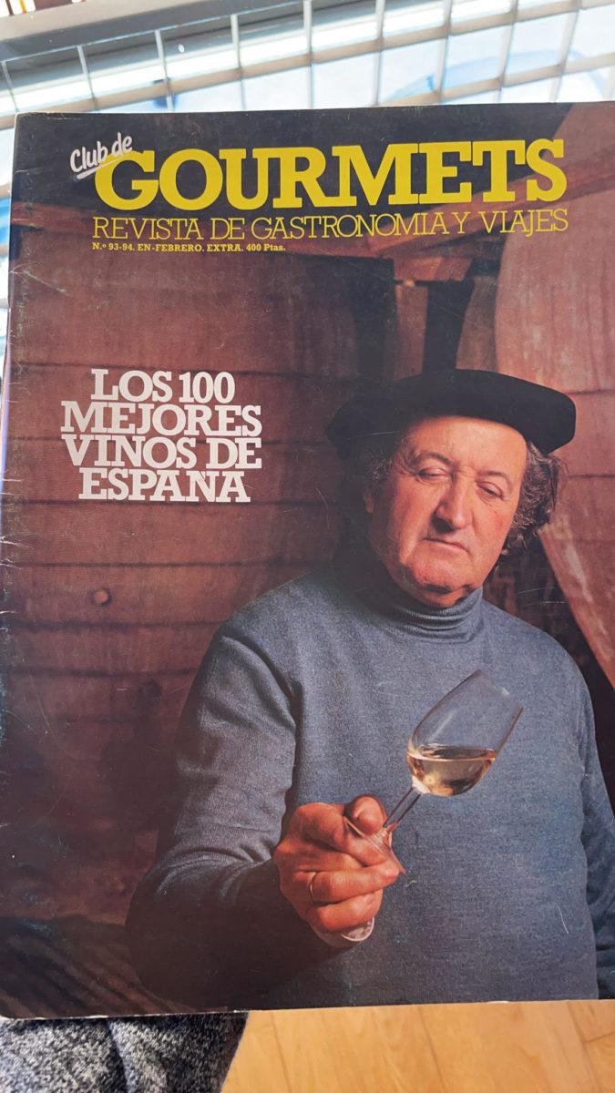 Fallece Jesús Díaz, bodeguero fundador de la denominación de origen